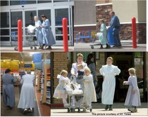 polygamists shopping